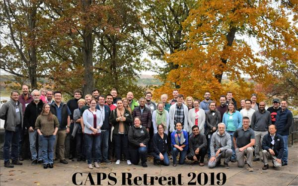 CAPS members at the 2019 retreat